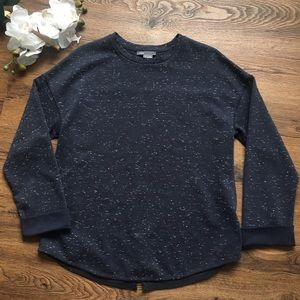 Vince Marled sweater with zippered back XS